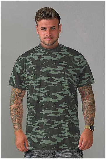 Sport, Camisetas M. Corta, 109092, KAKI