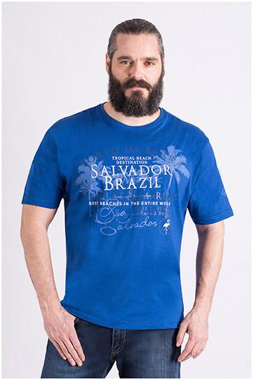 Camisas, Sport Manga Corta, 109121, COBALTO