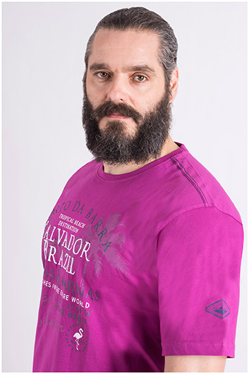 Camisas, Sport Manga Corta, 109121, FUCSIA