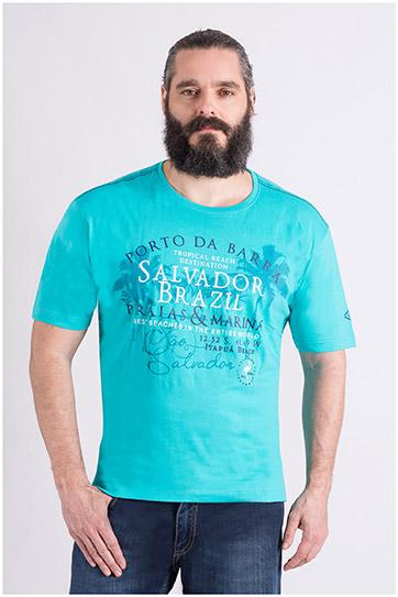 Camisas, Sport Manga Corta, 109121, TURQUESA