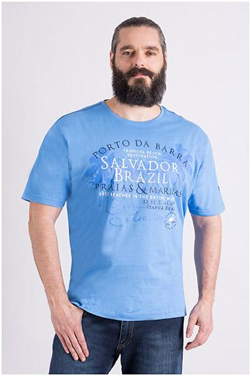 Camisas, Sport Manga Corta, 109121, CELESTE