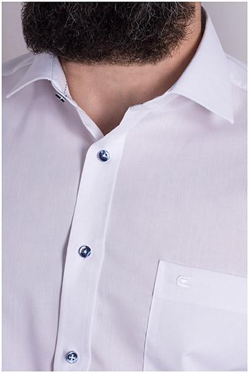Camisas, Vestir Manga Larga, 109124, BLANCO