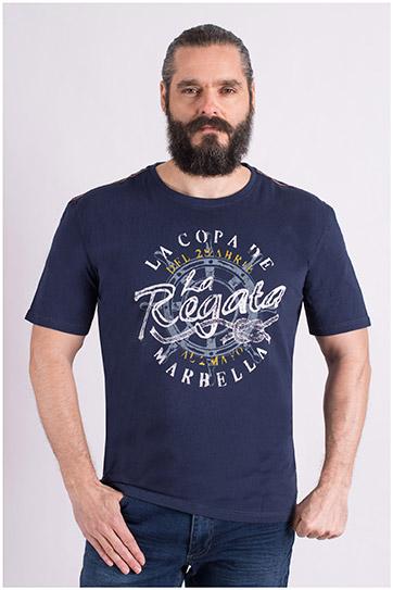 Sport, Camisetas M. Corta, 109143, MARINO