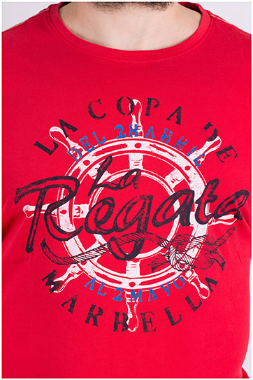 Sport, Camisetas M. Corta, 109143, ROJO