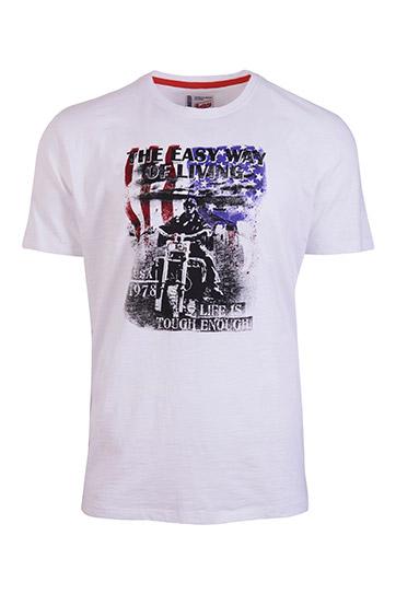Sport, Camisetas M. Corta, 109160, BLANCO