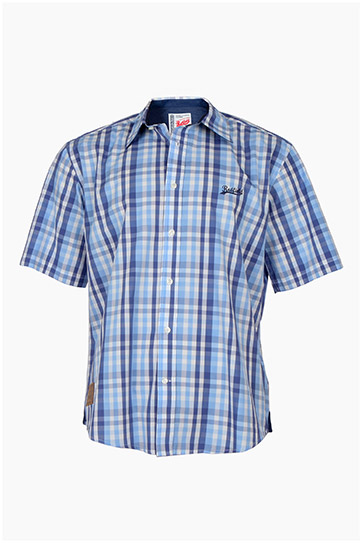 Camisas, Sport Manga Corta, 109217, MARINO