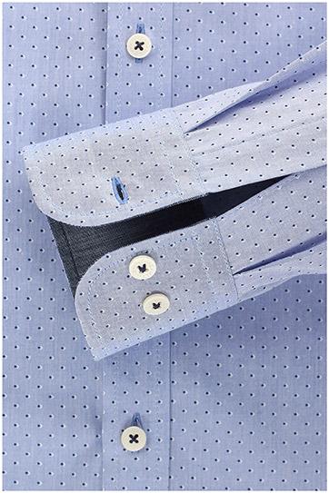 Camisas, Vestir Manga Larga, 109220, CELESTE