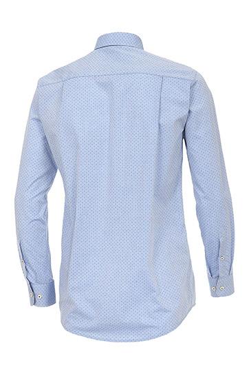 Camisas, Vestir Manga Larga, 109221, CELESTE