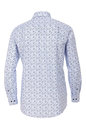 Camisas, Sport Manga Larga, 109236, CELESTE