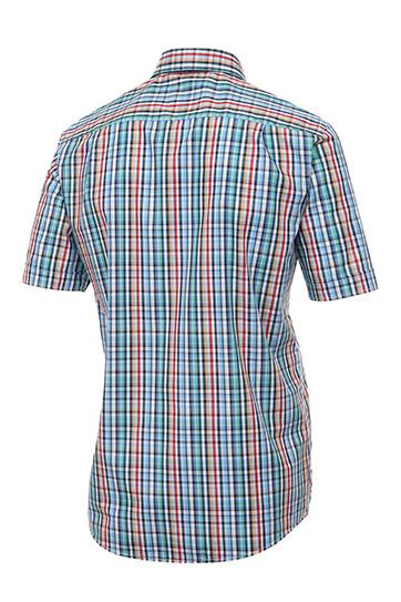 Camisas, Sport Manga Corta, 109273, AZUL