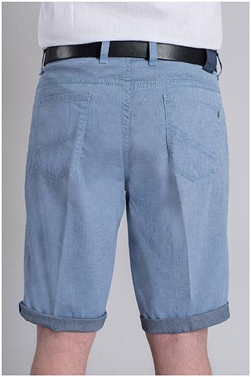 Pantalones, Bermudas, 109365, AZUL