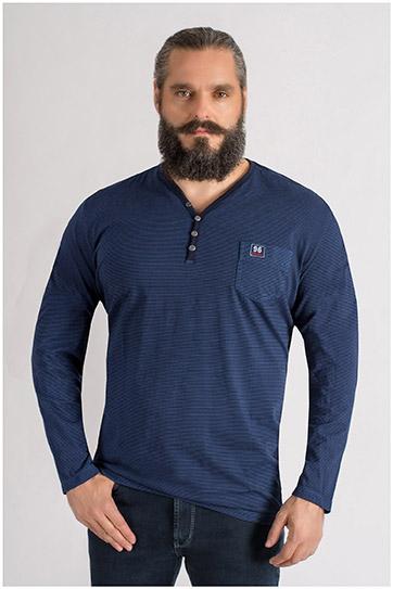 Sport, Camisetas M. Larga, 109379, INDIGO