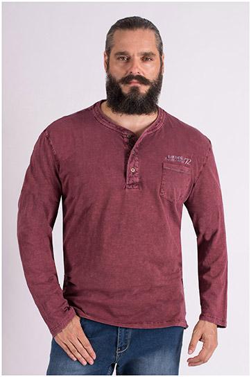 Sport, Camisetas M. Corta, 109381, GRANATE