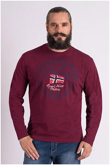 Sport, Camisetas M. Corta, 109384, GRANATE