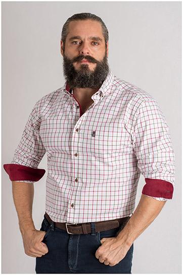 Camisas, Sport Manga Larga, 109405, CAZA