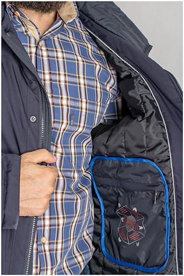 Abrigo, Chaquetones y Piel, 109489, MARINO