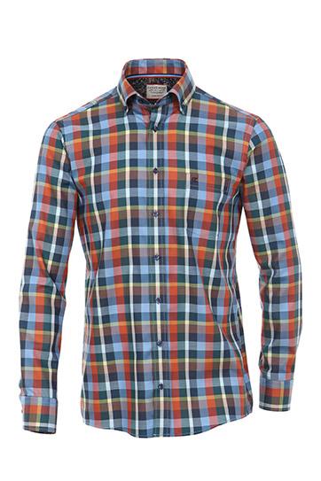 Camisas, Sport Manga Larga, 109505, AZUL
