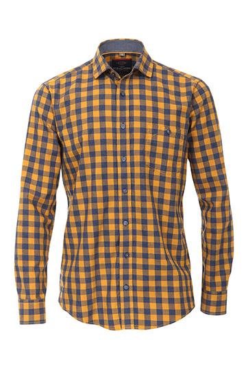Camisas, Sport Manga Larga, 109508, MOSTAZA