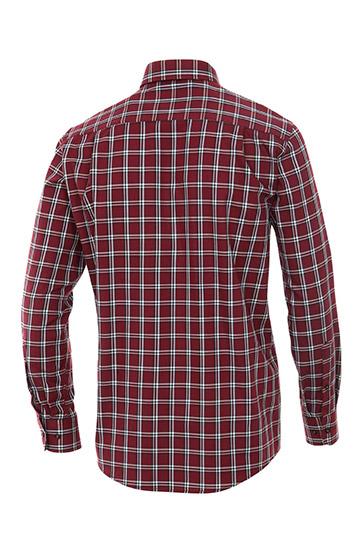 Camisas, Sport Manga Larga, 109509, ROJO
