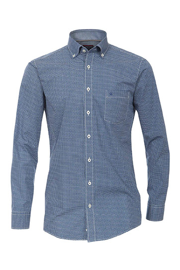 Camisas, Sport Manga Larga, 109516, MARINO