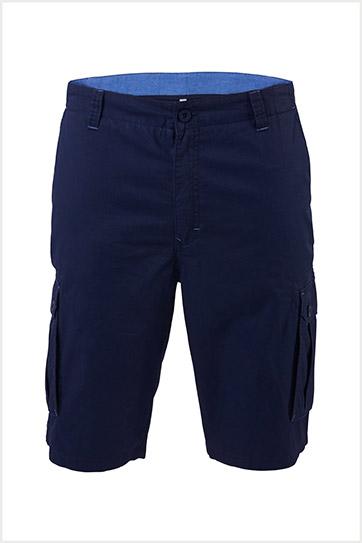 Pantalones, Bermudas, 109562, MARINO