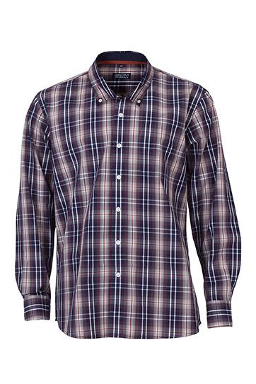Camisas, Sport Manga Larga, 109566, MARINO