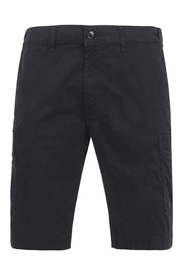 Pantalones, Bermudas, 109576, NEGRO