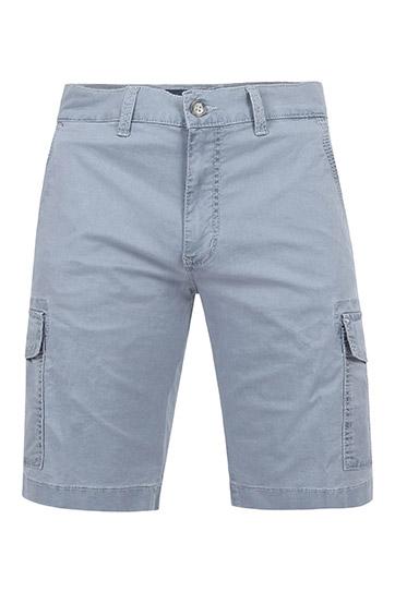 Pantalones, Bermudas, 109577, AZUL