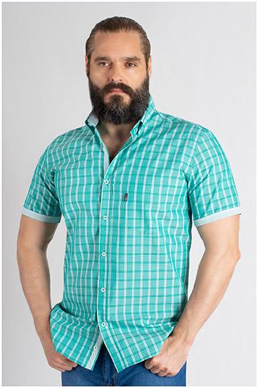 Camisas, Sport Manga Corta, 109618, VERDE