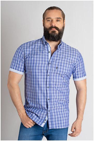 Camisas, Sport Manga Corta, 109618, MARINO