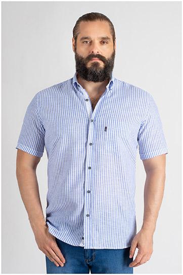 Camisas, Sport Manga Corta, 109620, MARINO