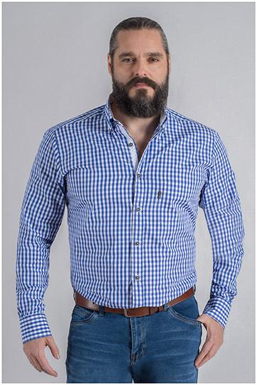 Camisas, Sport Manga Larga, 109622, ROYAL