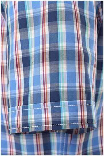Camisas, Sport Manga Corta, 109641, MARINO