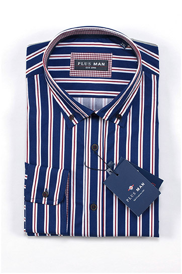 Camisas, Sport Manga Larga, 109659, MARINO