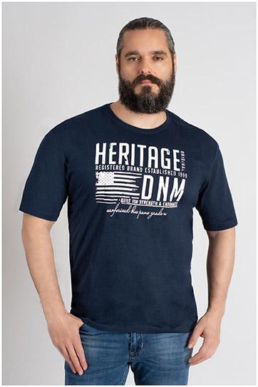 Sport, Camisetas M. Corta, 109668, MARINO