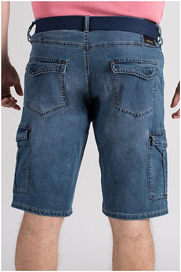 Pantalones, Bermudas, 109712, INDIGO
