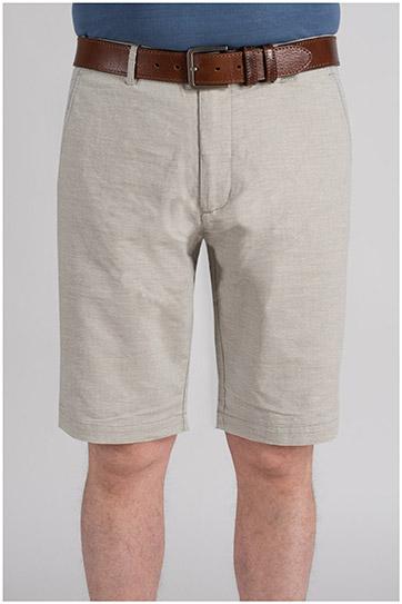 Pantalones, Bermudas, 109715, NATURAL