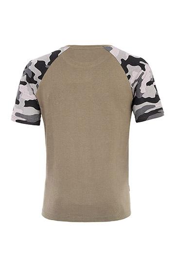 Sport, Camisetas M. Corta, 109719, KAKI