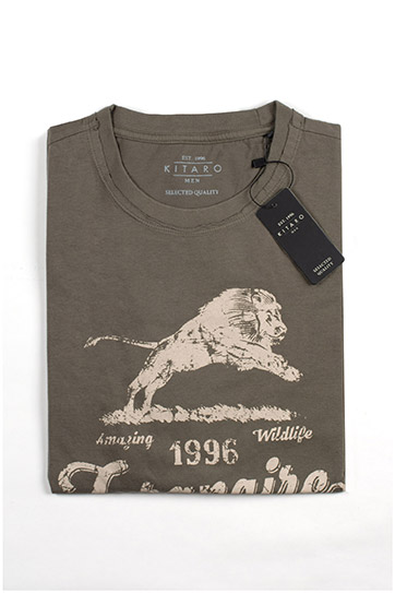 Sport, Camisetas M. Corta, 109732, KAKI