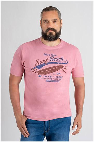 Sport, Camisetas M. Corta, 109758, ROSA