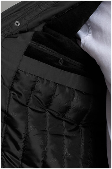 Abrigo, Chaquetones y Piel, 109781, NEGRO