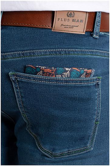 Pantalones, Vaqueros, 109785, INDIGO