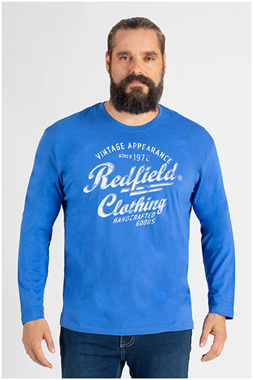 Sport, Camisetas M. Larga, 109805, COBALTO