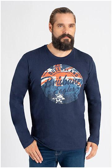 Sport, Camisetas M. Larga, 109806, MARINO