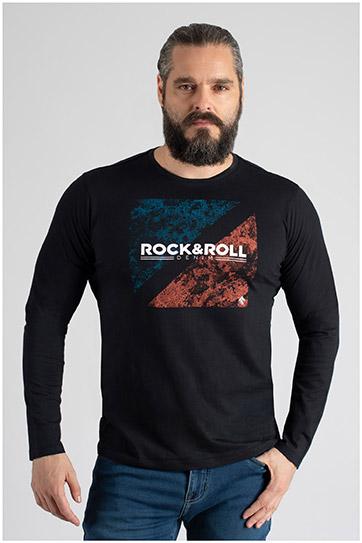 Sport, Camisetas M. Larga, 109828, NEGRO