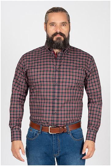 Camisas, Sport Manga Larga, 109851, MARINO