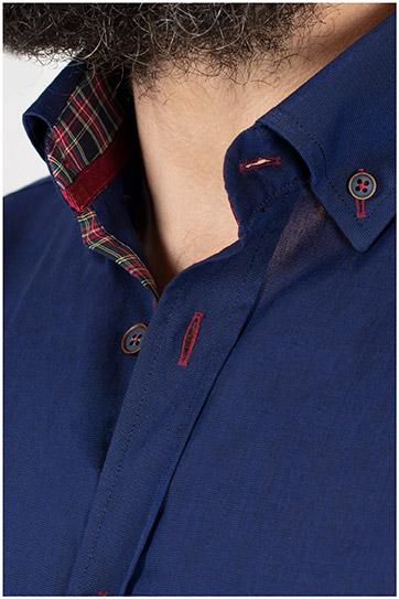 Camisas, Sport Manga Larga, 109853, MARINO