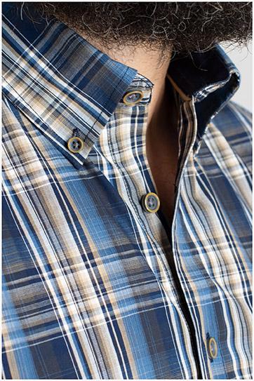 Camisas, Sport Manga Larga, 109856, MARINO