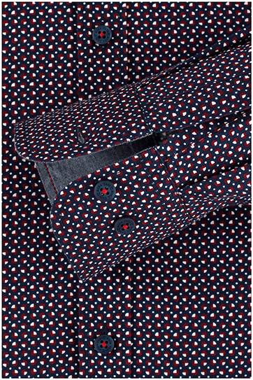 Camisas, Sport Manga Larga, 109861, MARINO