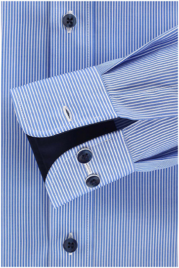 Camisas, Vestir Manga Larga, 109869, CELESTE